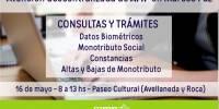 Atención descentralizada de AFIP en Marcos Paz el 16 de mayo