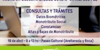 AFIP en Marcos Paz - 18 de abril